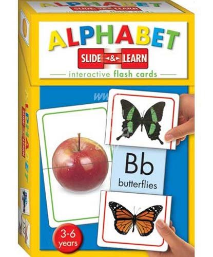 9781741219142: Alphabet (Slide and Learn Flash Cards)