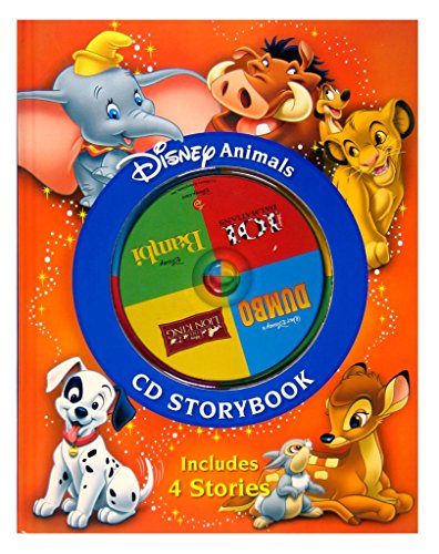9781741219227: Disney Animals CD Storybook: The Lion King / 101 Dalmatians / Bambi / Dumbo