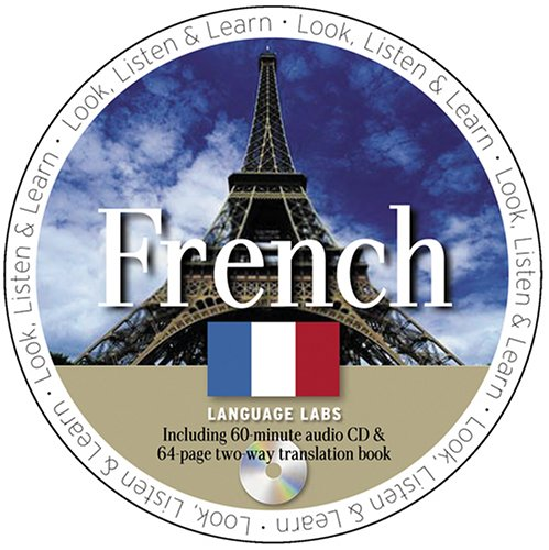 9781741219609: French Language Lab (Look Listen and Learn!) (French and English Edition)