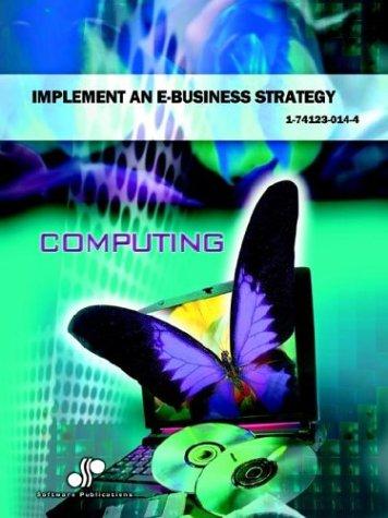 Implement an E-business Strategy: Doubinski, Julie