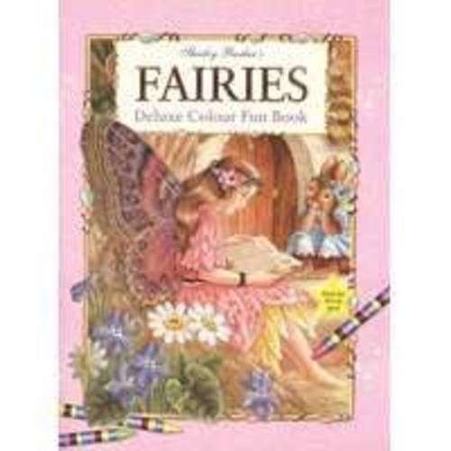 9781741240153: Fairies Deluxe Colouring Fun Book (Fairies Activity)