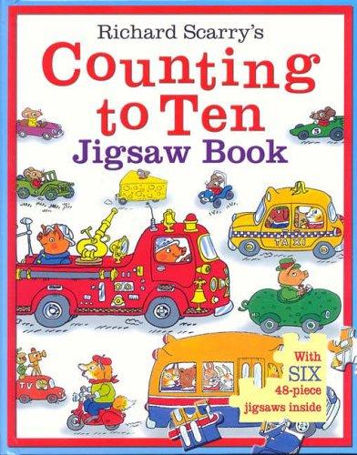 9781741244069: Counting to Ten Jigsaw Book (JIGSAW BOOK)