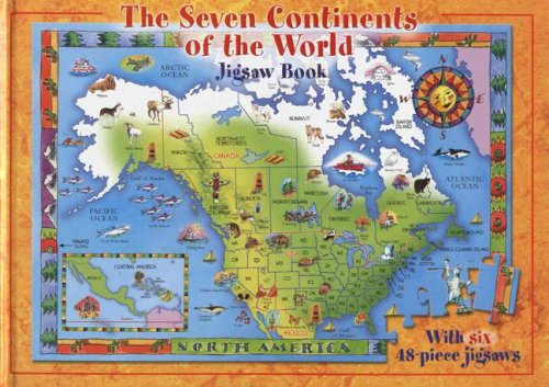 9781741244731: The Seven Continents of the World: Jigsaw Book