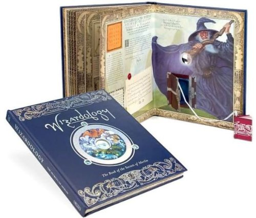 9781741247213: Wizardology: The Book of the Secrets of Merlin [Hardcover] by Steer, Dugald A.