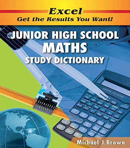 9781741251357: Excel Junior High School Maths Study Dictionary