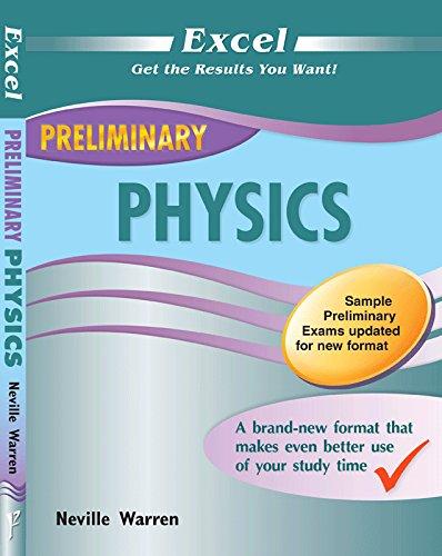 EXCEL PRELIMINARY - Physics Year 11: Warren, Neville