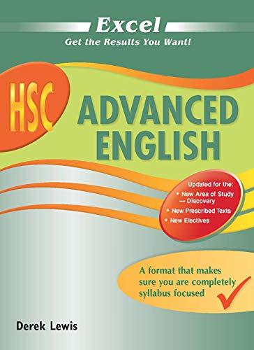Excel HSC Advanced English (Paperback): Derek Lewis