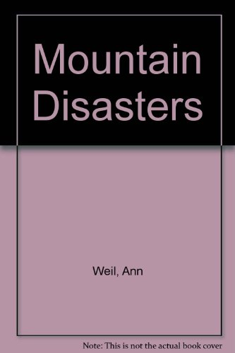 9781741263237: Mountain Disasters