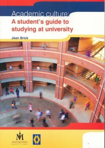 9781741381351: Academic Culture: A Student's Guide to Studying at University