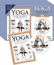 Yoga 2 in 1 Book and DVD: Woods Lynley