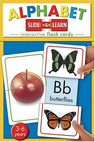 9781741572674: ABC: Interactive Flash Cards, 3-6 Years (Slide & Learn)