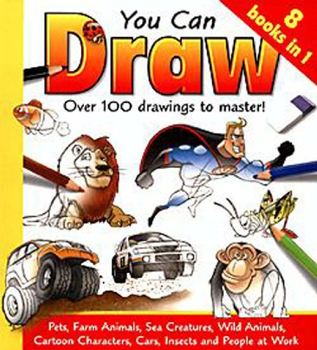 You Can Draw 8 Books in 1