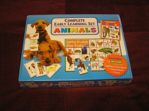 9781741575675: Complete Early Learning Set Animals