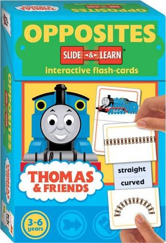9781741578379: Thomas Slide and Learn Flashcards: Opposites (Thomas & Friends)