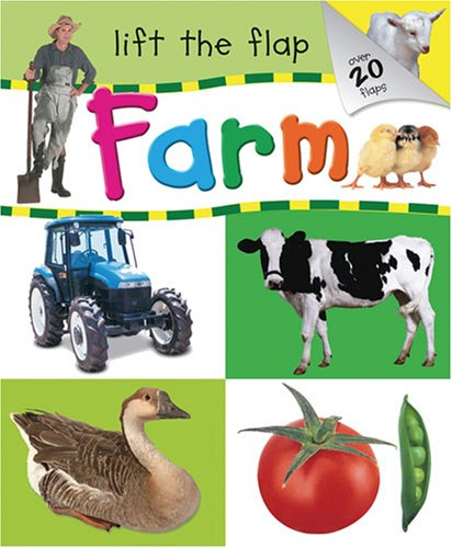 Farm: Lift the Flap (9781741579321) by Hinkler Books