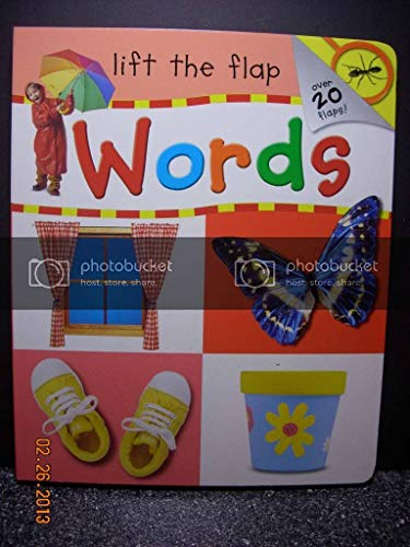 9781741579345: Words, Lift the Flap (Words)