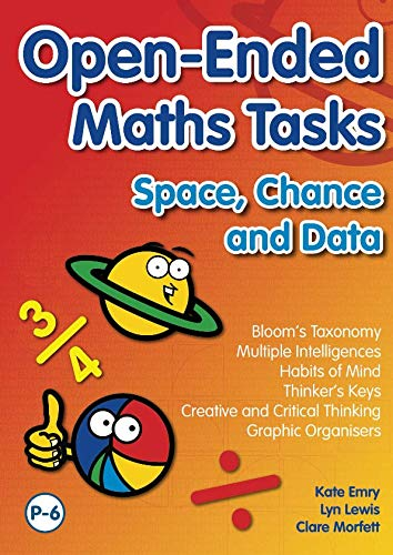 9781741708165: Open Ended Maths Tasks: Space, Chance and Data