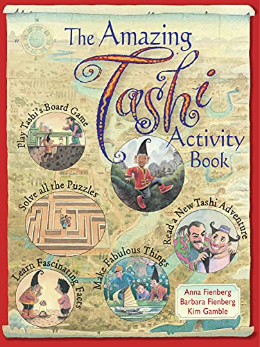 The Amazing Tashi Activity Book (Tashi series): Anna Fienberg; Barbara