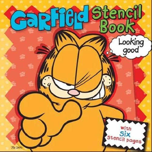 9781741780383: Garfield Stencil Book (Garfield)
