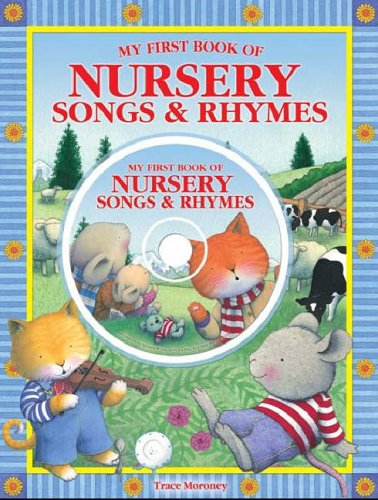 9781741782080: My First Book of Nursery Songs and Rhymes (Book & CD) (Book & CD)