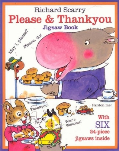 9781741783100: Please and Thankyou Jigsaw Book (A4 Jigsaw Book)