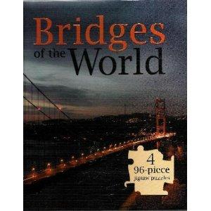 9781741785180: Bridges of the World (Puzzle BooK) Charles Bridge, Rialto Bridge, Syndey Harbour Bridge, Golden Gate Bridge