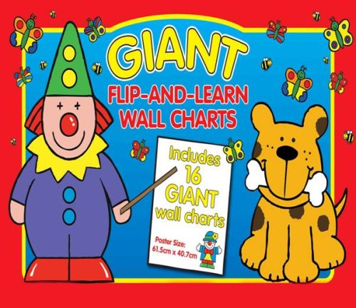 9781741789089: Giant Flip and Learn Wall Chart