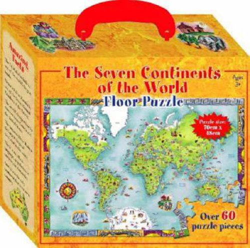 9781741789812: The Seven Continents of the World Floor Puzzle