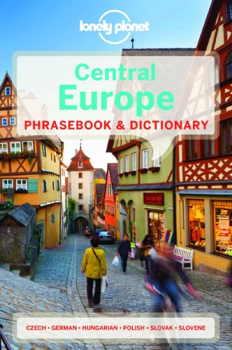 9781741790047: Lonely Planet Central Europe Phrasebook & Dictionary (Lonely Planet Phrasebook and Dictionary)