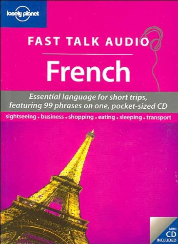 9781741792058: Fast Talk Audio French : Essential language for short trips (1CD audio)