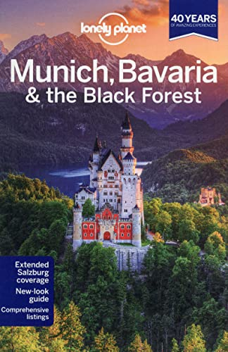 9781741794090: Munich Bavaria & the Black Forest (Lonely Planet Country & Regional Guides) (Travel Guide)