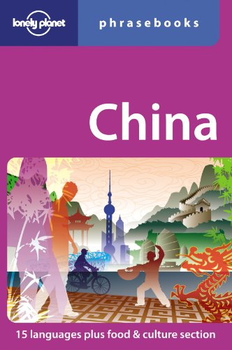 9781741797916: Lonely Planet China Phrasebook (Lonely Planet Phrasebooks)