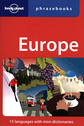 9781741799736: Lonely Planet Europe Phrasebook (Lonely Planet Phrasebook: Europe)