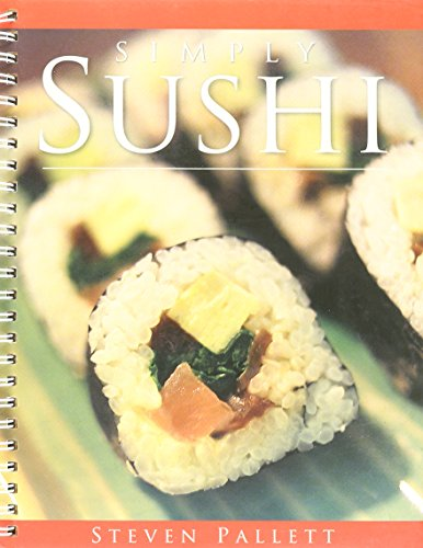 9781741810448: Simply Sushi Book and DVD by Steven Pallett (2006) Ring-bound