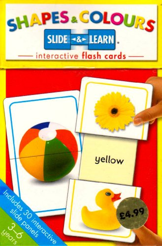 9781741811421: Shapes and Colours (Slide and Learn Flash Cards)