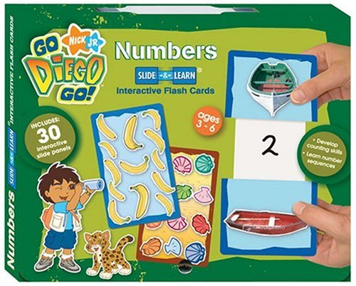 9781741811728: Numbers Slide & Learn (Go Diego Go)