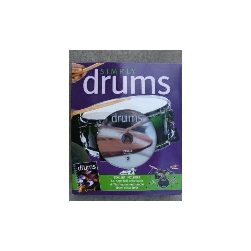 9781741812503: Simply Drums (book and DVD)