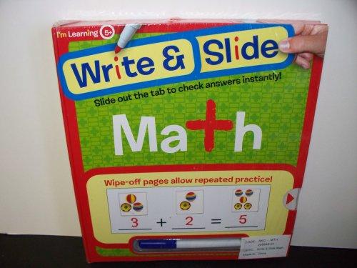 9781741814880: Write & Slide Math (I'm Learning 5+)