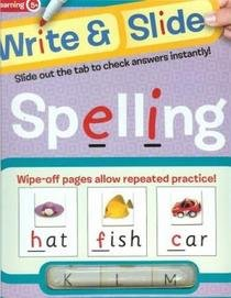 9781741814897: Spelling (Write & Slide)