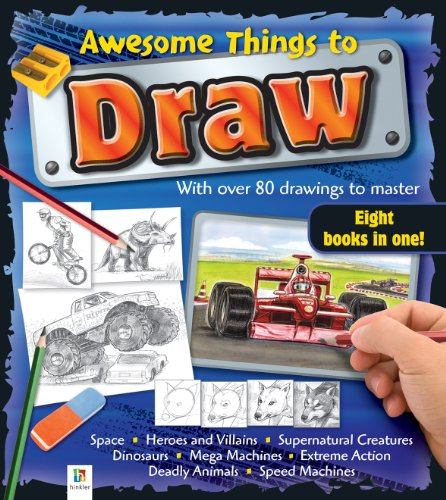 9781741815610: Awesome Things to Draw : With Over 80 Drawings to Master