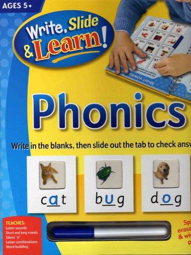 9781741816792: Phonics (Write, Slide & Learn Phonics) by Katie Hewat (2007-05-04)