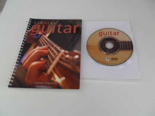 9781741820591: Simply Guitar book learn how to play, comes with DVD, Steve Mackay