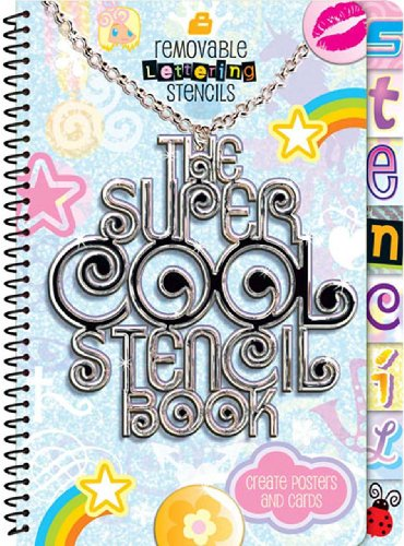 9781741821055: The Super Cool Stencil Book