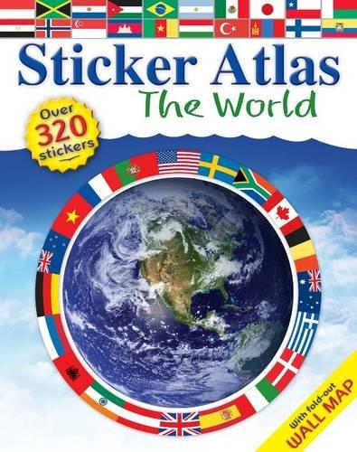 9781741821482: Sticker Atlas: World