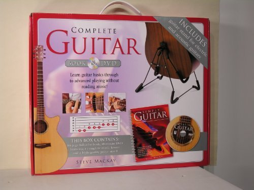 9781741823905: Complete Guitar, Simply Guitar Book, Simply Guitar DVD and Simply Guitar stand
