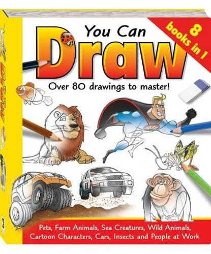 9781741829396: You Can Draw, Over 80 Drawings to Master