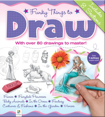 9781741829426: Funky Things to Draw