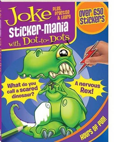 9781741832099: Joke - Sticker Mania (Dot-to-dot)