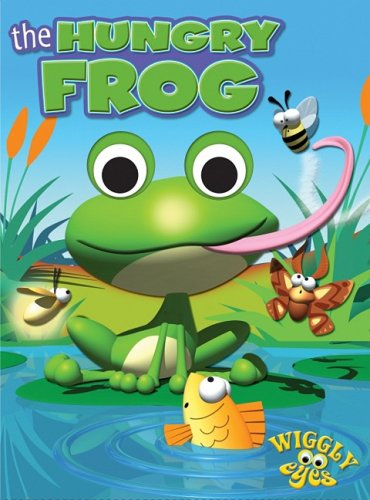 The Hungry Frog (Wiggly Eyes): Edited by Hinkler Books