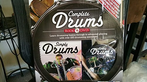 9781741837100: Complete Drums (Book & DVD)